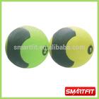 double color rubber medicine ball w/o handle gym exercise ball weight ball