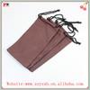 microfiber glasses pouch/sunglasses pouch for wholesale