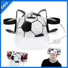 promotion gift party purpose pp football beer drink hat plastic beer drink helmet