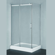 CAML high safety performance toughened glass shower room pivot door shower room