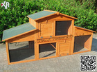 outdoor wooden pet cage XH 007