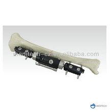 Straight type orthopedic equipment external fixator