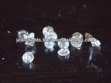 loose natural diamond pointers, J K off white color, Si brilliant/princess cut