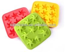 Funny Side Up Ice Mold/Novel Funny Starfish Ice Tray/Cool Starfish Ice Tray Mold