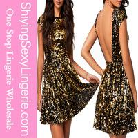 wholesale Casual dress high quality dress stocks