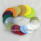 PE Plastic lid for paper can / plastic can / tin can