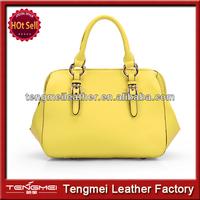 2015 New desinger leather handbag,fashion design lady handbag