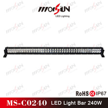 42inch LED driving light bar, 16800 lumen 240w LED driving light bar for Polaris RZR UTV ATV, 240w LED driving light bar