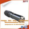 Forged external teeth precision gear shaft