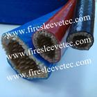 Silicone Coated Braided Fiberglass Fire Sleeve