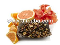 Orange Hibiscus Blossom _ Flavored Tea