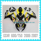 For SUZUKI GSXR600 GSXR750 2006 2007 K6 Fairing body kit