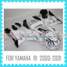 Custom Motorcycle Fairing Body Kit for YAMAHA R1 2000 2001 00 01
