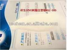 CPVC resin for pipe and fitting