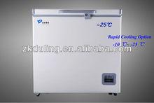 -25C Chest Deep Freezer Capacity from 100L~300L,for University lab ,Hospital ,electronics,animal husbandry