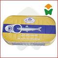 buon gusto in scatola sardine in olio di pesce 125gx50tins