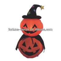 120cm high Halloween inflatable two pumpkins