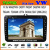2 din 8 inch VW car radio android GPS dvd player