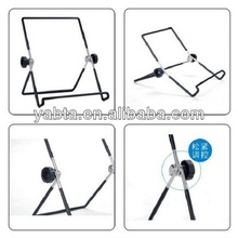 180 degree rotation stand holder for iPad/iPhone/Samsung/table PC foldable stand, portable adjustable foldable stand holder