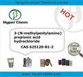 Hp8024 ibandronate intermedio de sodio 3-( n- methylpentylamino) propionicas clorhidrato de ácido cas 625120-81-2
