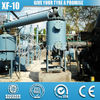XF-10 Quality Complete Fully Automatic used plastic pyrolysis machine