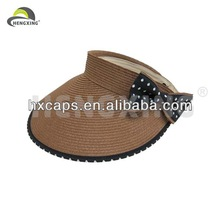 2014 Straw Car Sun VIsor Cap Custom Hat