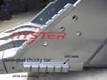 Komatsu excavadora piezas de desgaste HRC63 Domite piezas de desgaste para maquinaria de construcción de protección de acero made in china