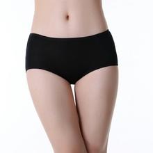 Hot sales women anti-bacterial pure colors women menstrual lingerie