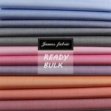 denim look solid cotton fabric