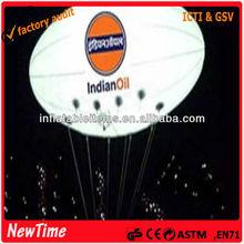inflatable PVC air ballon for display