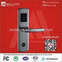 Waterproof hotel lock, aa technology lock, aa battery lock