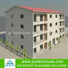 Multi-floor Modular House for Resident