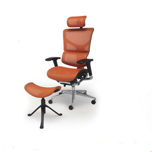 Adjustable Mesh Ergonomic Office Chairs with leg rests