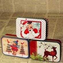 Zakka style storage boxes gift tin box