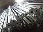 Q235 galvanized metal poles for lighting,camera mounting poles