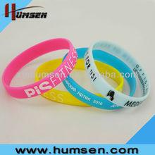 Personailzed Rubber Bracelet,Rubber Wristband,Silicone Bracelet