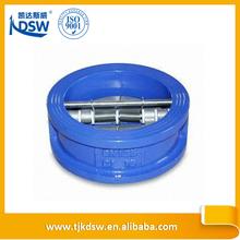DIN standard plated disc manual spring loaded check valve