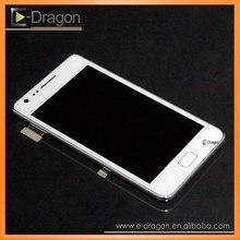 """Оригинал белый для Samsung Galaxy S2 i9100 жк-сборки с кнопка """"Домой"""""""