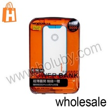 New Product Wopow 5000mAh Mobile Power Bank