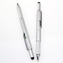 Tech Tool Pen Handy Screwdriver Ruler Spirit Level Metal Multitool Pen