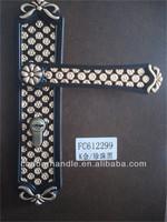 Door locks for metal gate new style handle lock plate door lock