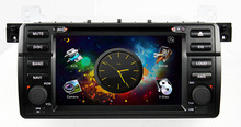 "Hot selling 7"" Touch screen 1 din Car DVD for BMW M3 with GPS internet TV WIFI Bluetooth CD player camera all function"