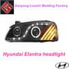 Hyundai Elantra xenon & halogen headlight