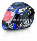 Safety Helmet, Motorbike Helmet WLT Black/Blue 4#