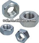 Fasteners for machinery industry M8 grade8.8 white zinc plated hex nut din934