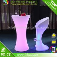 Non-folding LED Bar Table Furniture factory hot sale
