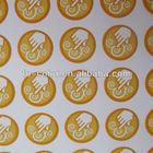 Custom Paper Aroma Sticker