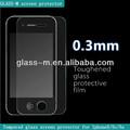 Corea accesoriosparamóvil templado de vidrio protector de pantalla para iphone5/5c/5s