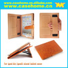 2014 genuine leather case for ipad air, for ipad air wallet card leather case, for ipad air case business styles