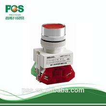 AC IP55 LED Illuminated Push Button Micro Switch